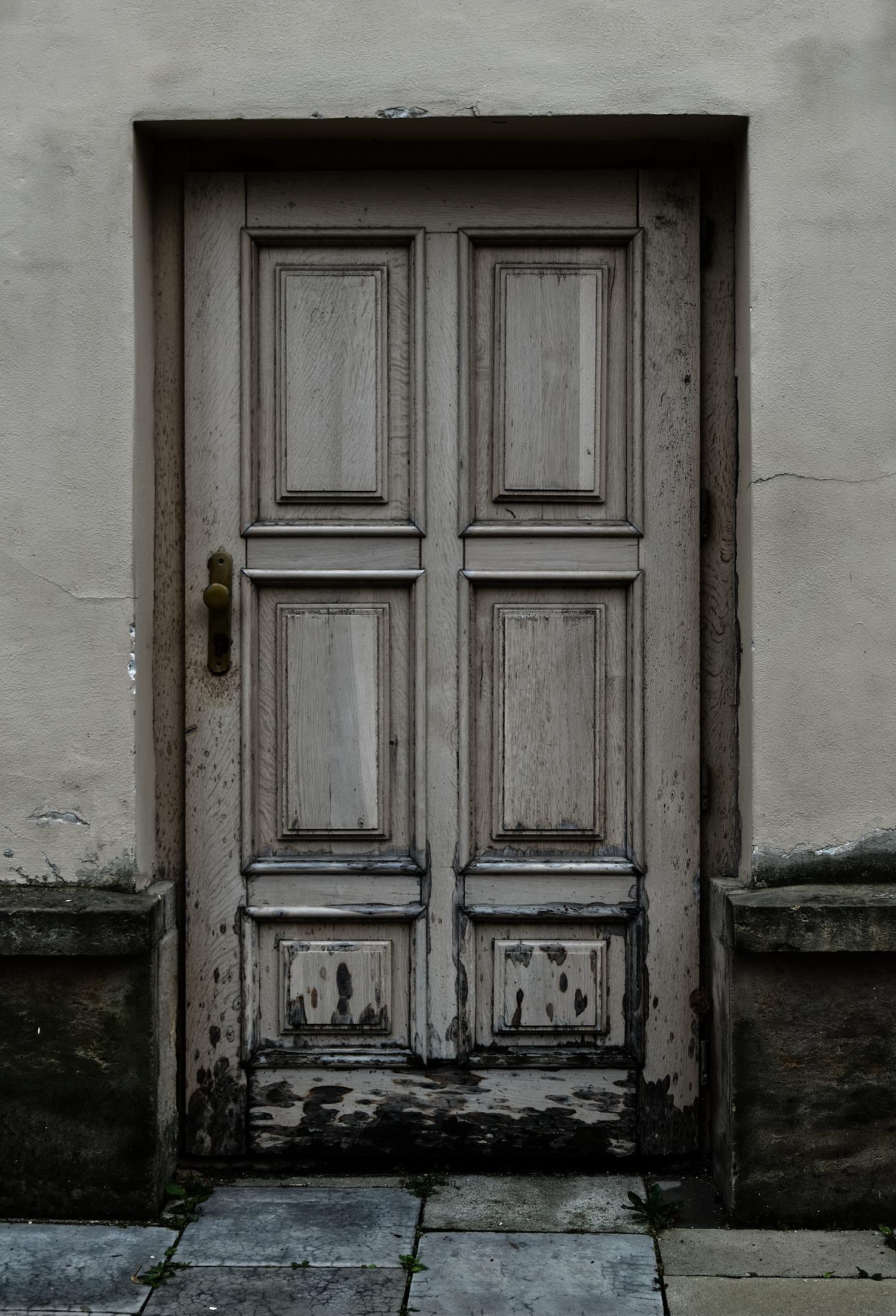 Vintage Haustür